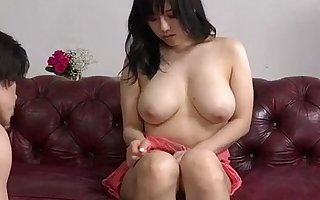 Incautious hardcore of well-endowed Japanese Azusa Nagasawa