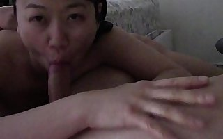 Asian Milf Blows Young Teen