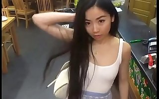 Chinese Cutie With White Man
