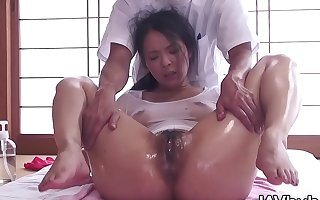 JAVHUB JAV pornstar Ichika Aimi massaged spasmodically fucked