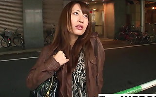 japanese girl jerks cum in mouth and sucks toes